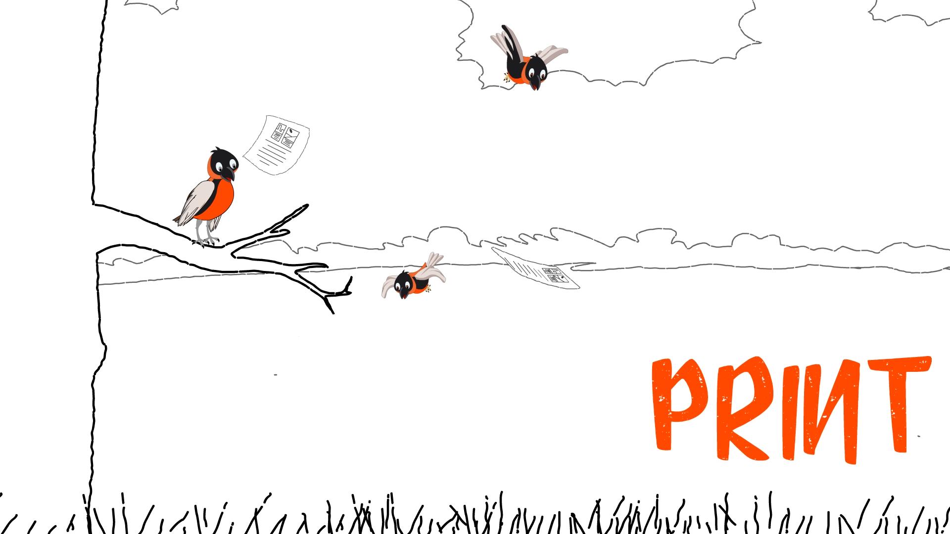 print advertising agency dubai carrot and stick