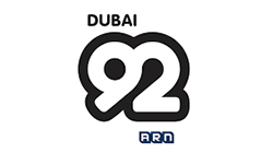 Dubai 92 radio station logo