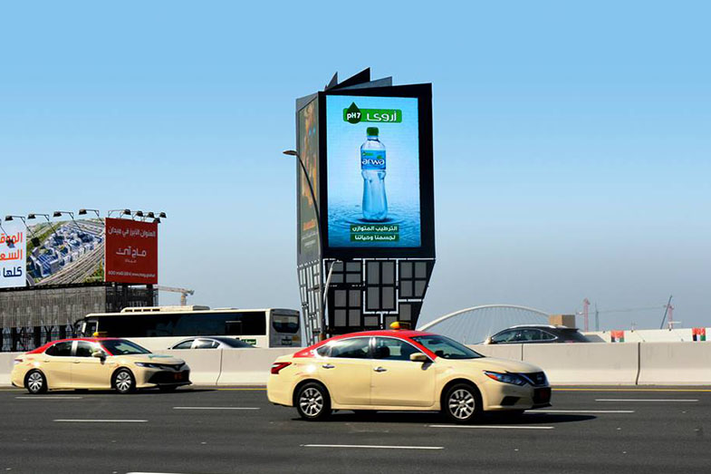 digital led screens outdoor advertising uae